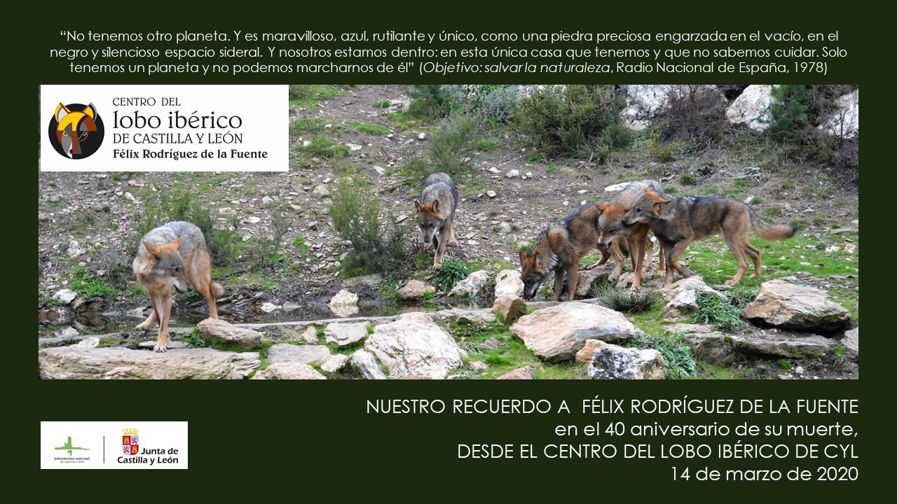 Cuarenta años de la muerte de Félix Rodríguez de la Fuente
